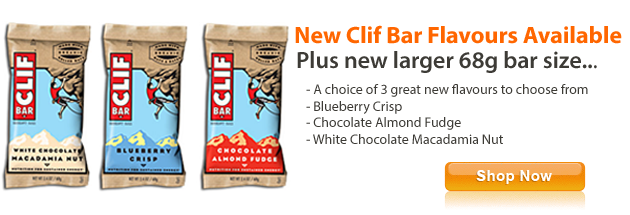 New Clif Bar Flavours
