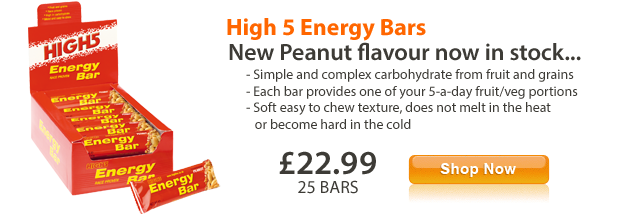New Peanut High 5 Bars
